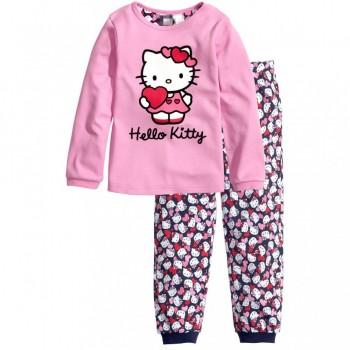 """Детская пижама для девочки из 2 предметов """"Хелло Китти. Маленькая валентинка - 2"""""""