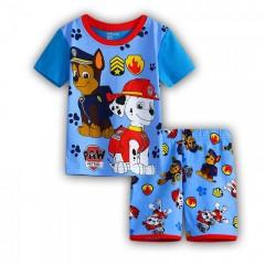 """Детская пижама для мальчика из 2 предметов """"Щенячий патруль. Гонщик и Маршал"""""""