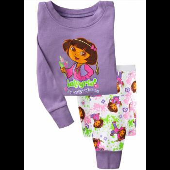 """Детская пижама для девочки из 2 предметов """"Дора Путешественница. Дора и бабочка"""""""