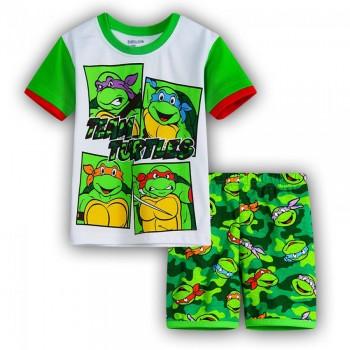 """Детская пижама для мальчика из 2 предметов """"Черепашки Ниндзя. Команда черепашек"""""""
