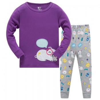 """Детская пижама для девочки из 2 предметов """"Милашка"""""""
