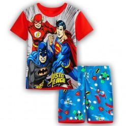 """Детская пижама для мальчика из 2 предметов """"Лига Справедливости. Боевая команда"""""""