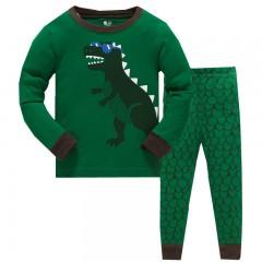 """Детская пижама для мальчика из 2 предметов """"Модный динозавр"""""""