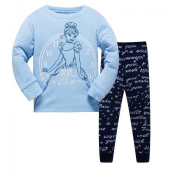 """Детская пижама для девочки из 2 предметов """"Золушка. Волшебное время"""""""