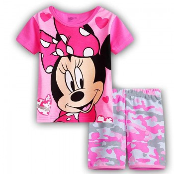 """Детская пижама для девочки из 2 предметов """"Минни Маус. Крутая девчонка - 3"""""""