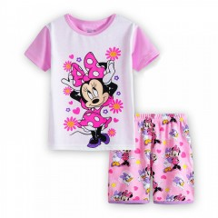 """Детская пижама для девочки из 2 предметов """"Минни Маус. Маленькие модницы"""""""
