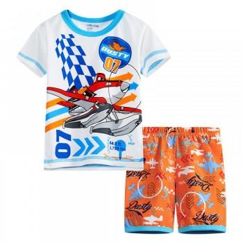 """Детская пижама для мальчика из 2 предметов """"Самолеты. Дасти спасатель"""""""