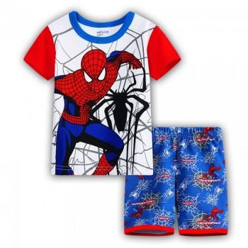 """Детская пижама для мальчика из 2 предметов """"Человек Паук. Паутина паука"""""""