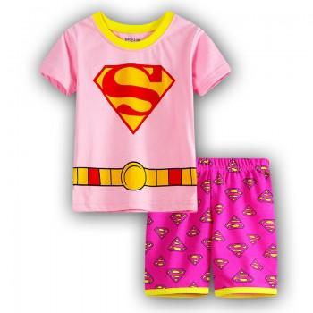 """Детская пижама для девочки из 2 предметов """"Супервумен. Красотка"""""""