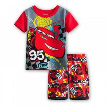 """Детская пижама для мальчика из 2 предметов """"Тачки. Кубок поршня"""""""