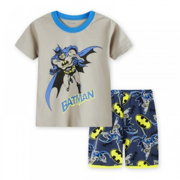 """Детская пижама для мальчика из 2 предметов """"Бэтмен. Сила и отвага"""""""