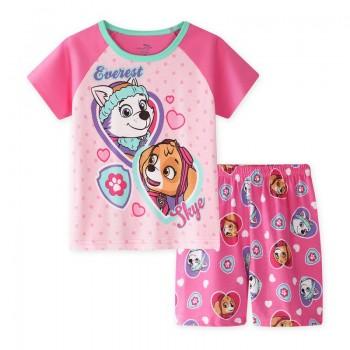 """Дитяча піжама для дівчинки з 2 предметів """"Щенячий Патруль. Еверест і Скай"""""""