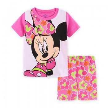 """Детская пижама для девочки из 2 предметов """"Минни Маус. Цветочное настроение"""""""