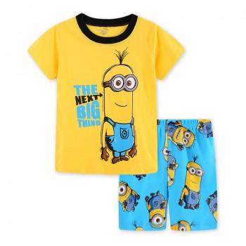 """Детская пижама для мальчика из 2 предметов """"Миньоны. Большая идея"""""""