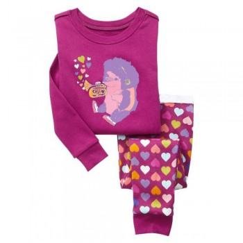 """Детская пижама для девочки из 2 предметов """"Волшебная музыка"""""""