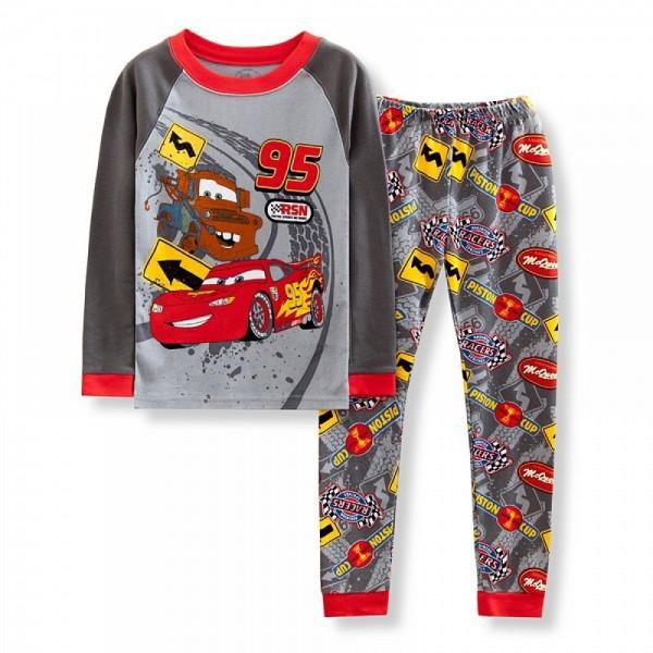 """Детская пижама для мальчика из 2 предметов """"Тачки. Кубок поршня - 2"""""""