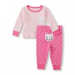 """Детская пижама для девочки из 2 предметов """"Китти"""""""
