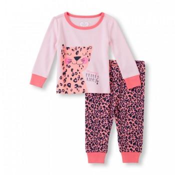 """Детская пижама для девочки из 2 предметов """"Мамина милая кошечка"""""""