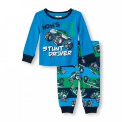 """Детская пижама для мальчика из 2 предметов """"Крутой водитель"""""""