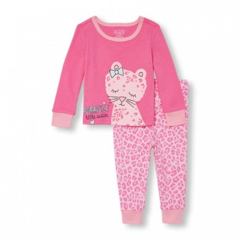 """Детская пижама для девочки из 2 предметов """"Маленькая сестренка"""""""