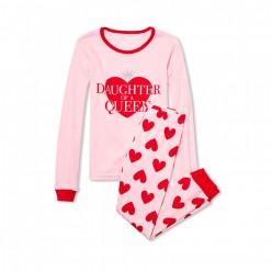 """Детская пижама для девочки из 2 предметов """"Дочь королевы"""""""
