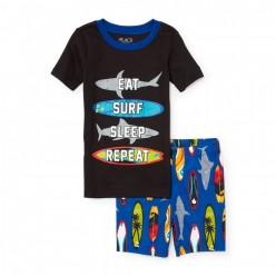 """Детская пижама для мальчика из 2 предметов """"Акуленок"""""""