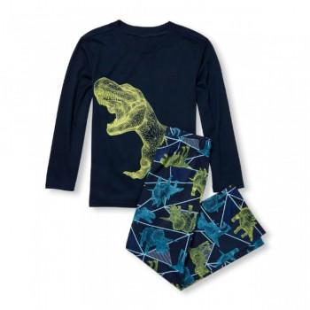 """Детская пижама для мальчика из 2 предметов """"Динозаврик"""""""