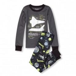 """Детская пижама для мальчика из 2 предметов """"Космонавт"""""""