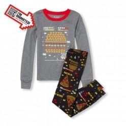 """Детская пижама для мальчика из 2 предметов """"Галактика бургера"""""""