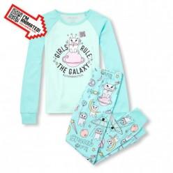 """Детская пижама для девочки из 2 предметов """"Космонавтка"""""""