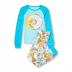 """Детская пижама для девочки из 2 предметов """"Вкусный пончик"""""""