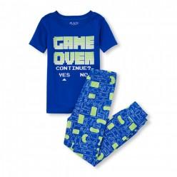 """Детская пижама для мальчика из 2 предметов """"Игра окончена"""""""