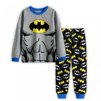"""Детская пижама для мальчика из 2 предметов """"Бэтмен. Сильный герой - 2"""""""