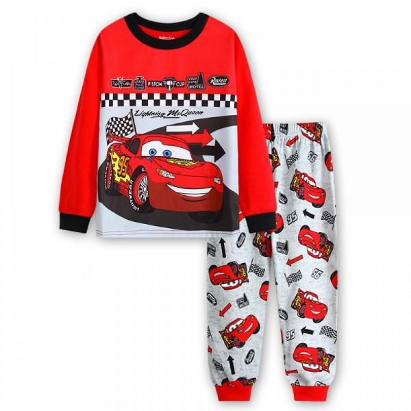 """Детская пижама для мальчика из 2 предметов """"Тачки. Молния Маккуин - 2"""""""