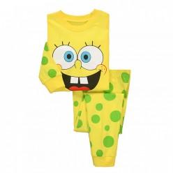 """Детская пижама для детей из 2 предметов """"Губка Боб. Улыбка"""""""