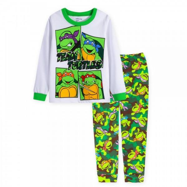 """Детская пижама для мальчика из 2 предметов """"Черепашки Ниндзя. Команда черепашек - 2"""""""