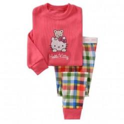 """Детская пижама для девочки из 2 предметов """"Хелло Китти. Валентинка"""""""