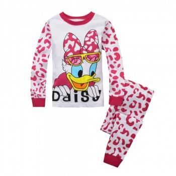 """Детская пижама для девочки из 2 предметов """"Дейзи Дак. Большое любопытство"""""""