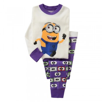 """Детская пижама для детей из 2 предметов """"Миньоны. Загадка"""""""