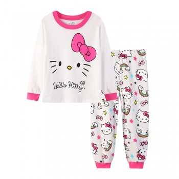 """Детская пижама для девочки из 2 предметов """"Хелло Китти. Радужное настроение - 2"""""""