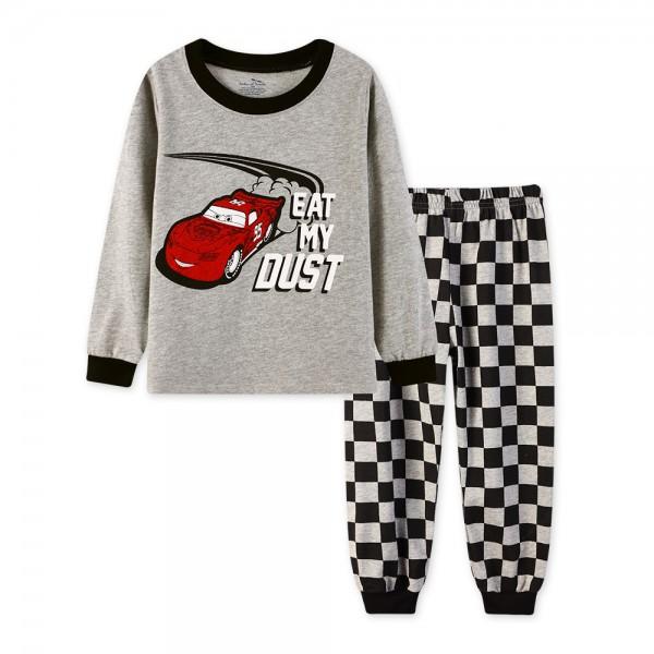 """Детская пижама для мальчика из 2 предметов """"Тачки. Глотай мою пыль - 2"""""""
