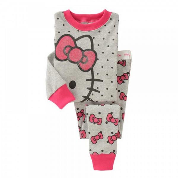 """Детская пижама для девочки из 2 предметов """"Хелло Китти. Незнакомка"""""""