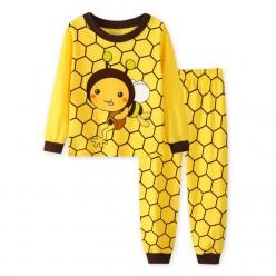 """Детская пижама для детей из 2 предметов """"Пчелка Мая. Вкусный мед"""""""