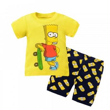 """Детская пижама для мальчика из 2 предметов """"Симпсоны. Барт Симпсон"""""""