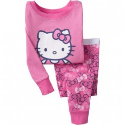 """Детская пижама для девочки из 2 предметов """"Хелло Китти. Бантик"""""""