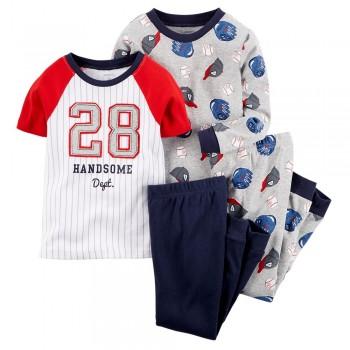 """Детская пижама для мальчика из 4 предметов """"28 номер"""""""