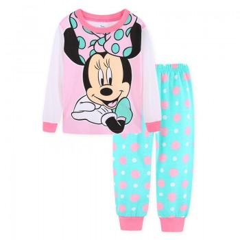 """Детская пижама для девочки из 2 предметов """"Минни Маус. Красотка с бантиком - 2"""""""