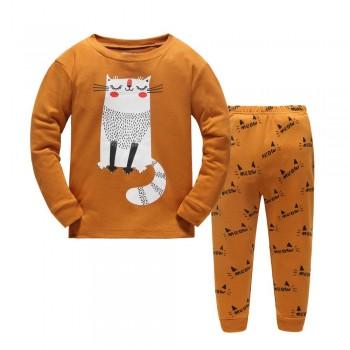 """Детская пижама для детей из 2 предметов """"Мяу"""""""