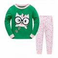 """Детская пижама для девочки из 2 предметов """"Умная кошечка"""""""
