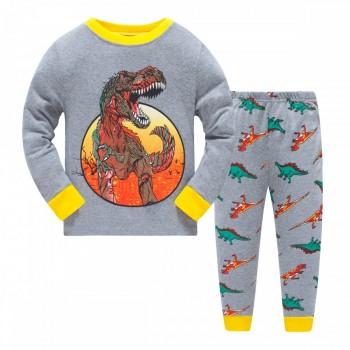 """Детская пижама для мальчика из 2 предметов """"Эра динозавров"""""""